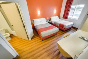 Double Room with Two Double Beds with Refrigerator