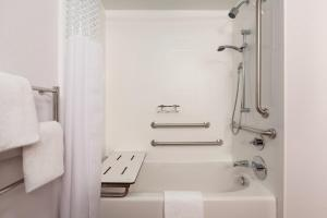 Full Size Bed and Bath Tub - Disability Access