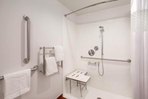 Full Size Bed and Roll-In Shower - Disability Access