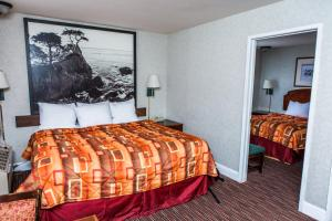 One King Bed - One Double Bed - Two Bedroom Suite