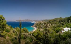 Tsamadou beach, Kokkari, Samos, Greece.