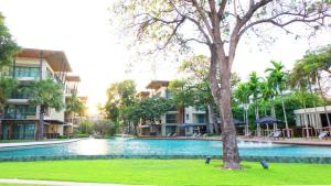 Beach Front Apartment-Baan Sansuk, Apartmanok  Huahin - big - 11