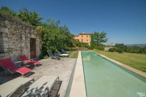 B&B La Bastide Desmagnans, Bed & Breakfast  Lacoste - big - 16