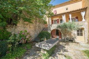 B&B La Bastide Desmagnans, Bed & Breakfast  Lacoste - big - 13