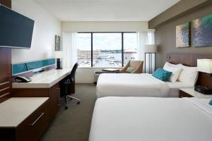Queen Room with Two Queen Beds and Water View