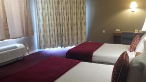 Deluxe Double Room with Two Double Beds - Pool View