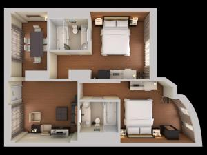 Premium Two-Bedroom King Suite - Non-Smoking