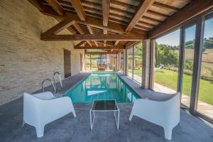 Country House Ca' Brunello, Holiday homes  Urbino - big - 11