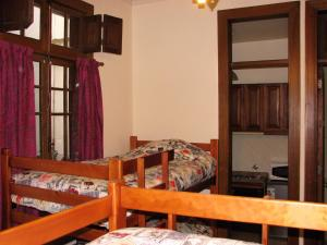Bed in 4-Bed Dormitory Room with a Private Bathroom