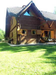 Holiday house By the forest, Holiday homes  Gozd Martuljek - big - 31