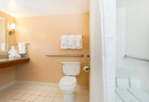 Queen Room with Roll-In Shower - Hearing Accessible