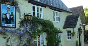 The Jolly Tar Inn in Hannington, Wiltshire, England
