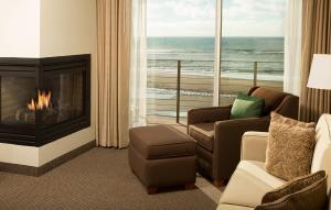 Fireplace Suite with Ocean View