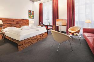 Juniorsuite med king-size-seng