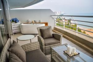 Sandy Beach Condo 15E, Appartamenti  Petchaburi - big - 16