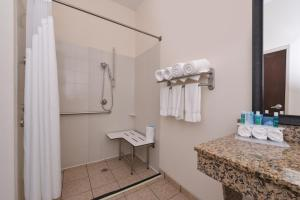 King Room - Disability Access Hearing Accessible Roll-in Shower