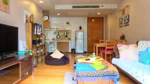 Beach Front Apartment-Baan Sansuk, Apartmanok  Huahin - big - 24