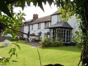 The George Inn in Brompton Regis, Somerset, England
