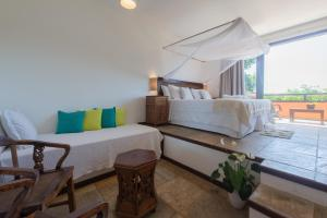 Premium Triple Room with Balcony and Sea View