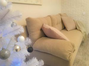 Studio Luxe on Victory Street in the city center, Apartmány  Vinnycja - big - 13
