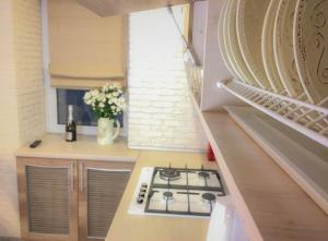 Studio Luxe on Victory Street in the city center, Apartmány  Vinnycja - big - 19