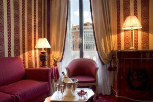 Juniorsuite Exclusive med utsikt over Canal Grande