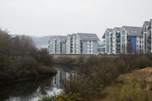 Riverside Apartment in Copper Quarter, Ferienwohnungen  Swansea - big - 21