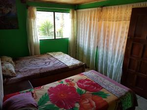Double Room with Shared Bathroom with Mountain View