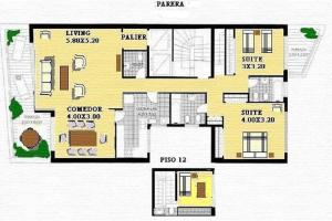 Parera 100 - Two-Bedroom Apartment