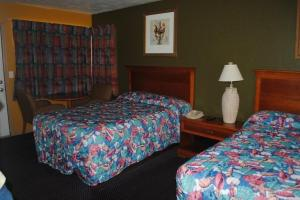 Standard Room with Three Double Beds - Non-Smoking