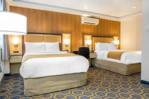Suite with Two Double Beds and Sofa Bed