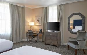 Corner Room with Two Double Beds