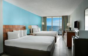 Oceanfront Room with Two Queen Beds