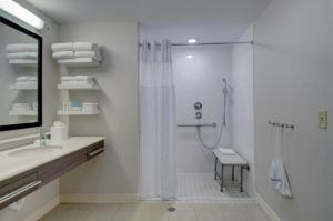 King Room - Mobility Accessible with Roll In Shower - Non-Smoking