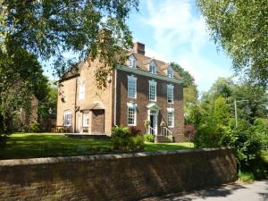 Calcutts House in Ironbridge, Shropshire, England