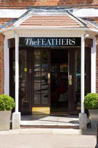 The Feathers in Woodstock, Oxfordshire, England