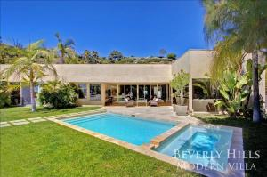 1100 - Beverly Hills Modern Villa, Villen  Los Angeles - big - 18