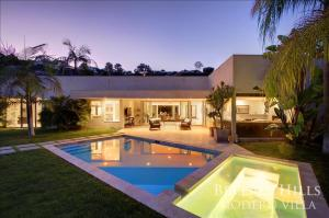 1100 - Beverly Hills Modern Villa, Villen  Los Angeles - big - 20
