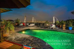 1104 - Mulholland Modern Villa, Villas  Los Angeles - big - 2