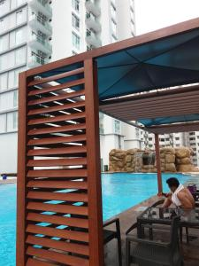 Urban Sanctuary Resort Condo @ Larkin, Appartamenti  Johor Bahru - big - 10