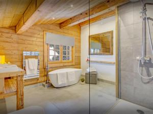 Fleur des Neiges Grand Bornand, Chalets  Le Grand-Bornand - big - 14
