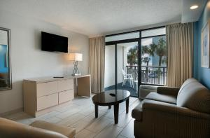 Double Suite with Partial Ocean View