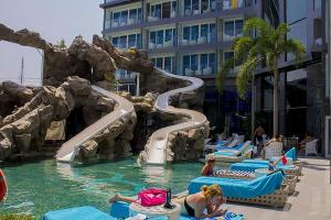 Avenue Residence condo by Liberty Group, Ferienwohnungen  Pattaya - big - 86