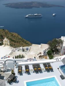 Nomikos Villas, Aparthotely  Fira - big - 23