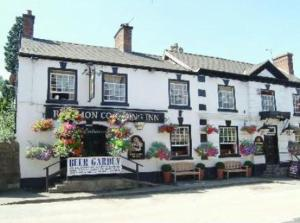 Red Lion Coaching Inn in Ellesmere, Shropshire, England