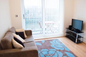 Riverside Apartment in Copper Quarter, Ferienwohnungen  Swansea - big - 20