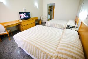 Luxury Double Room with Two Double Beds