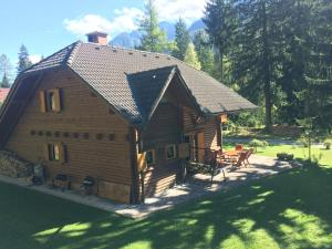 Holiday house By the forest, Holiday homes  Gozd Martuljek - big - 45