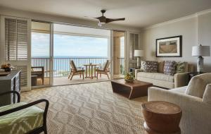 Ocean Front Junior Suite with Two Double Beds