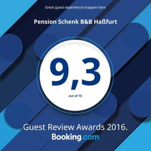 Pension Schenk B&B Haßfurt